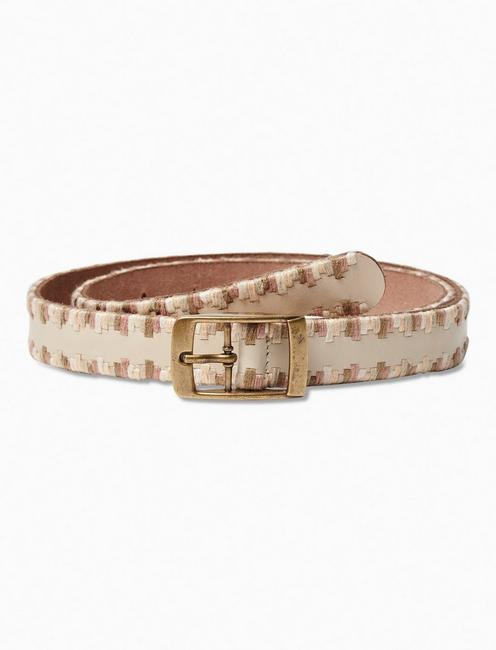 Lucky Serape Embroidered Belt