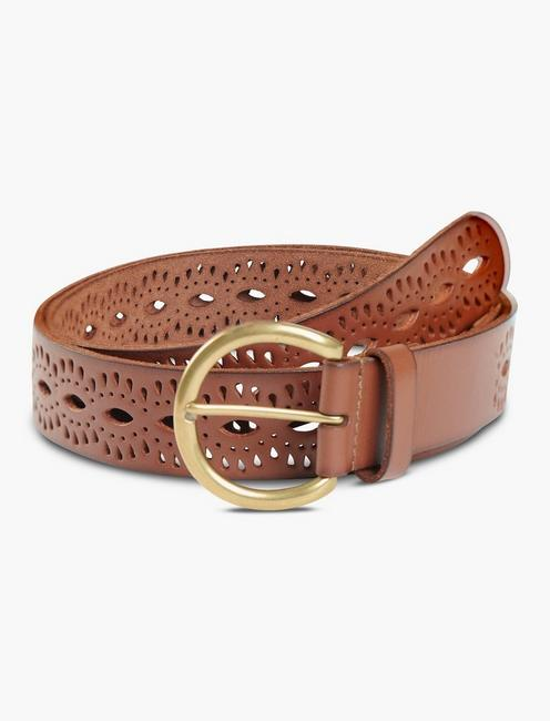 BEACHWOOD BELT PLUS, BROWN