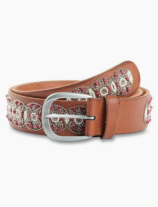 GEO BEADED BELT, MULTI, productTileDesktop