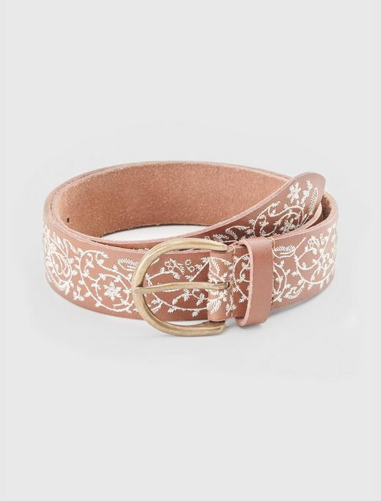 PAISLEY EMBROIDERED BELT