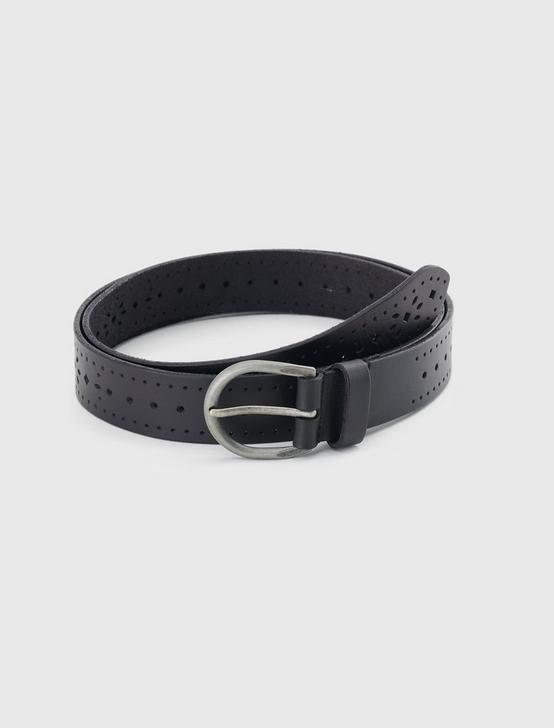GEO CUTOUT BELT, BLACK, productTileDesktop