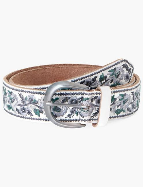 FLORAL WITH BORDER BELT,