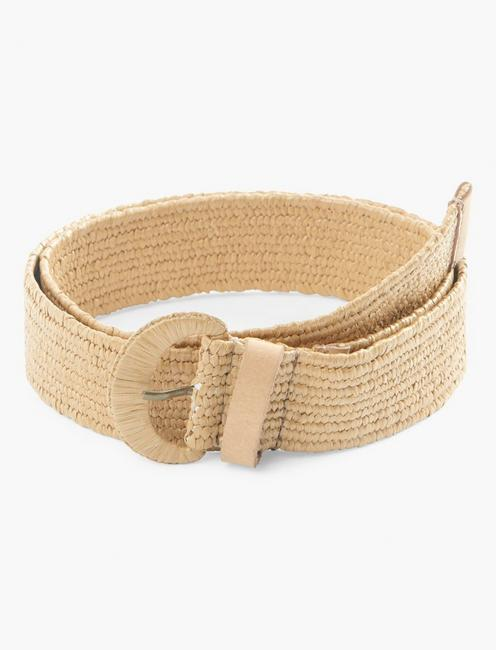 WOVEN COVERED BUCKLE BELT,