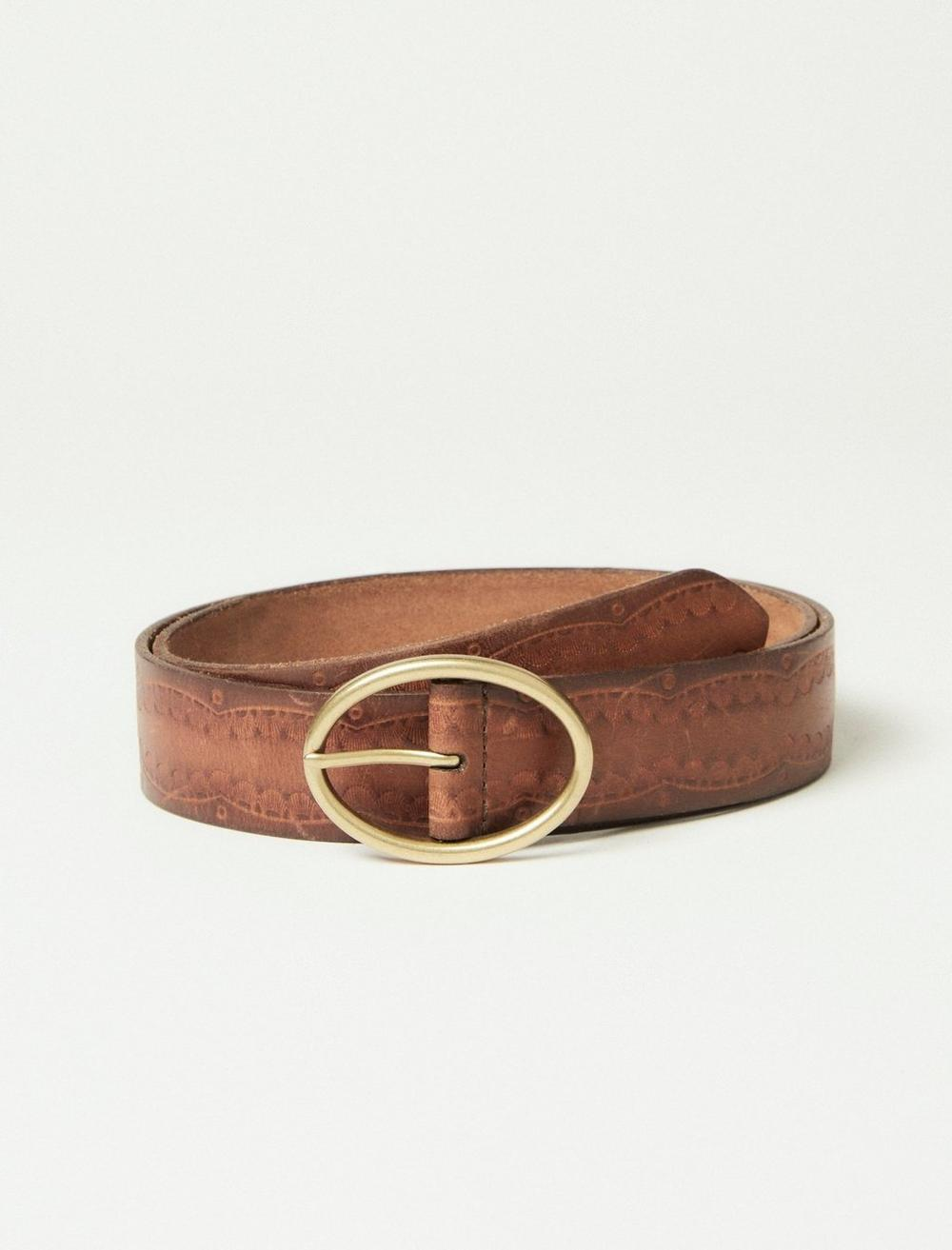 WESTERN EMBOSSED LEATHER, image 1