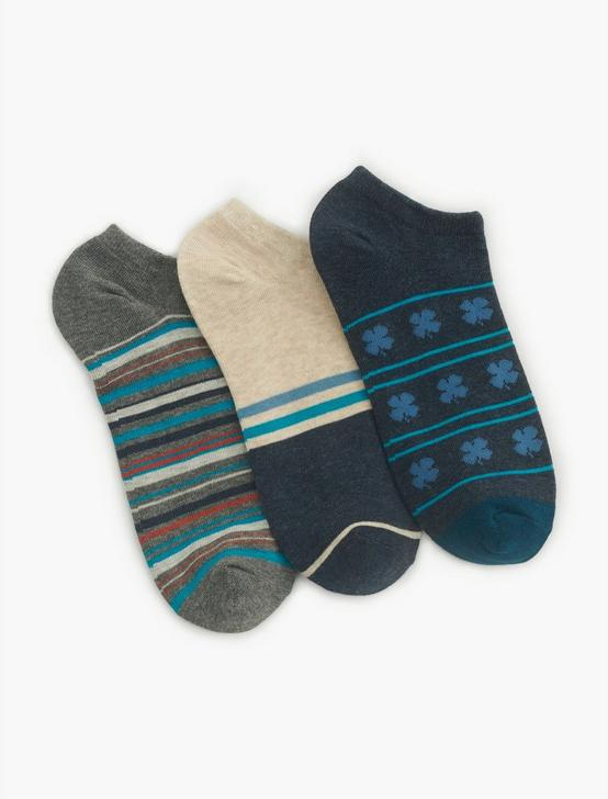 MENS CLOVER PRINT SOCKS