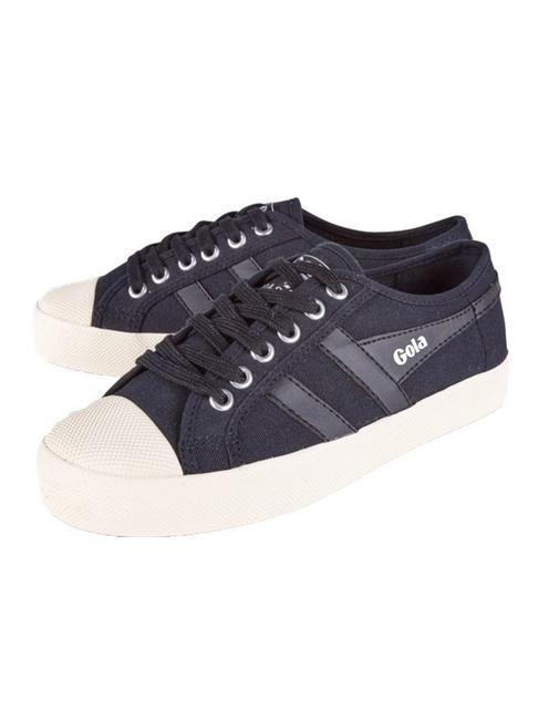 GOLA COASTER CANVAS SNEAKER, BLACK/WHITE