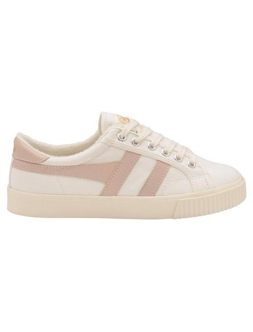 GOLA TENNIS MARK COX CANVAS SNEAKER, WHITE/BLOSSOM