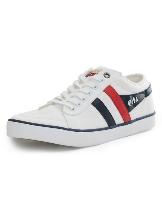 GOLA COMET SNEAKER, WHITE/NAVY/RED, productTileDesktop
