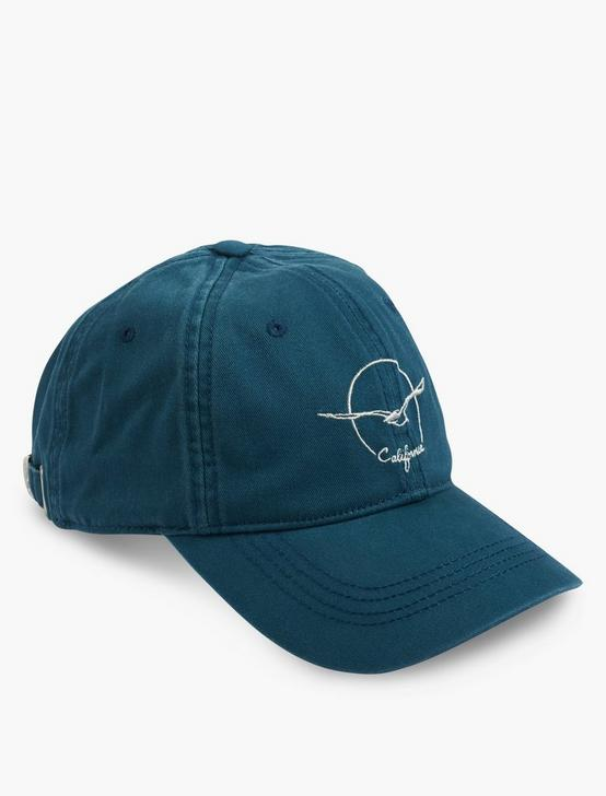 CALI SEAGULL BASEBALL HAT, BLUE, productTileDesktop
