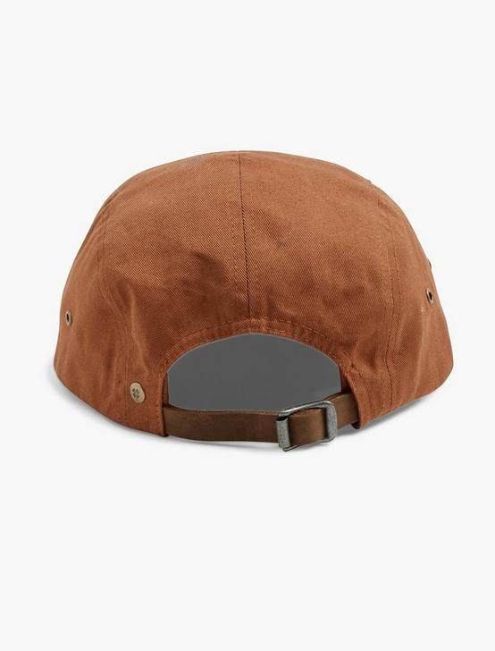 LA/CA 5 PANEL HAT, RUST, productTileDesktop