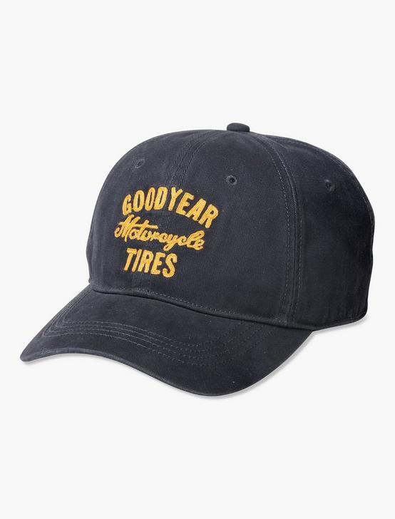 GOODYEAR BASEBALL HAT, NAVY, productTileDesktop