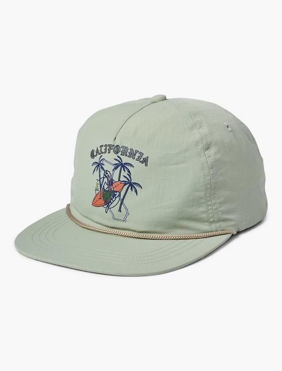 CALIFORNIA NYLON HAT, MINT, productTileDesktop
