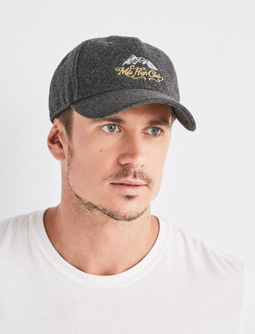 MILE HIGH CLUB HAT, CHARCOAL