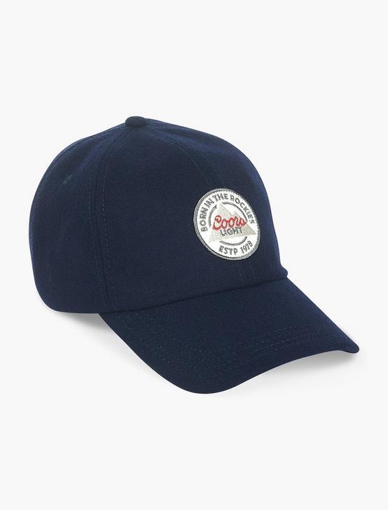 COORS FLAT BRIM HAT, NAVY, productTileDesktop