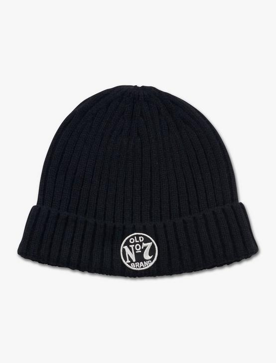 NO7 JACK DANIELS BEANIE, BLACK, productTileDesktop