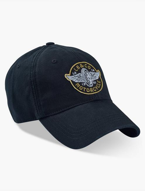 MOTO PATCH BASEBALL HAT,