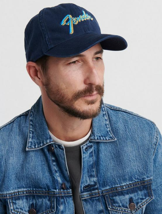 FENDER BASEBALL HAT, BLUE, productTileDesktop