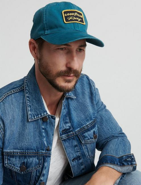 GOOD YEAR PATCH HAT, BLUE