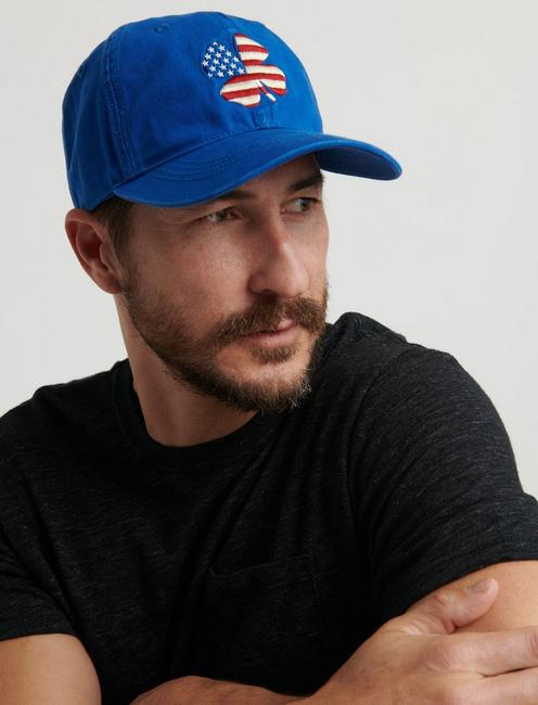 AMERICANA CLOVER HAT, BLUE