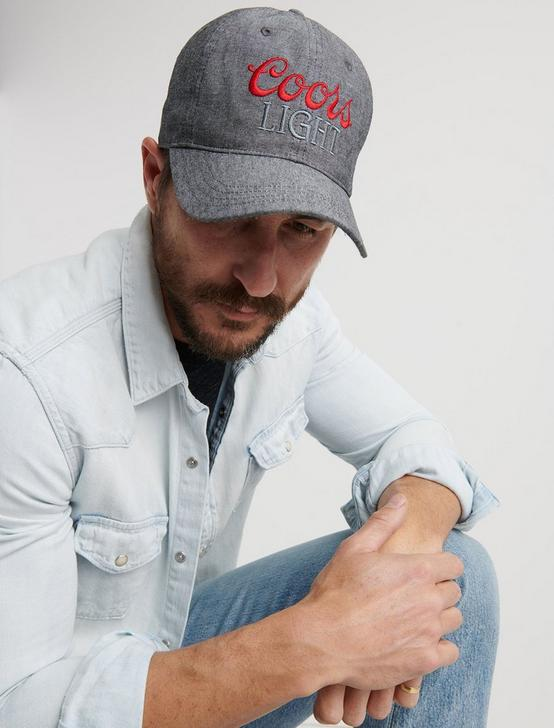 COORS PATCH DENIM HAT, DENIM, productTileDesktop