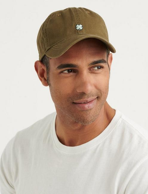 MICRO CLOVER BBALL HAT, OLIVE