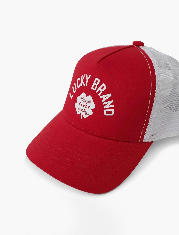 VINTAGE LUCKY TRUCKER HAT, image 2