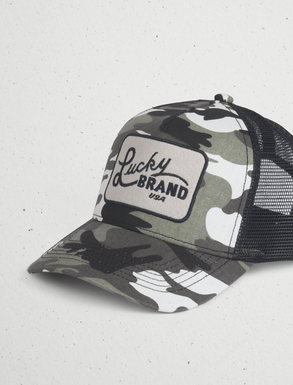 CAMO TRUCKER PATCH HAT, image 2