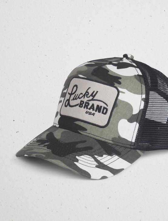 CAMO TRUCKER PATCH HAT, MULTI, productTileDesktop