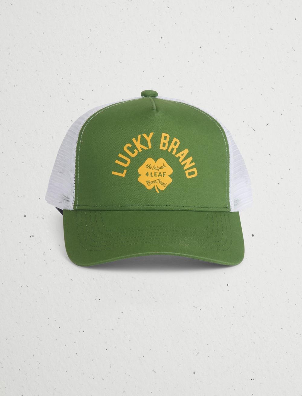 VINTAGE LUCKY TRUCKER HAT, image 1