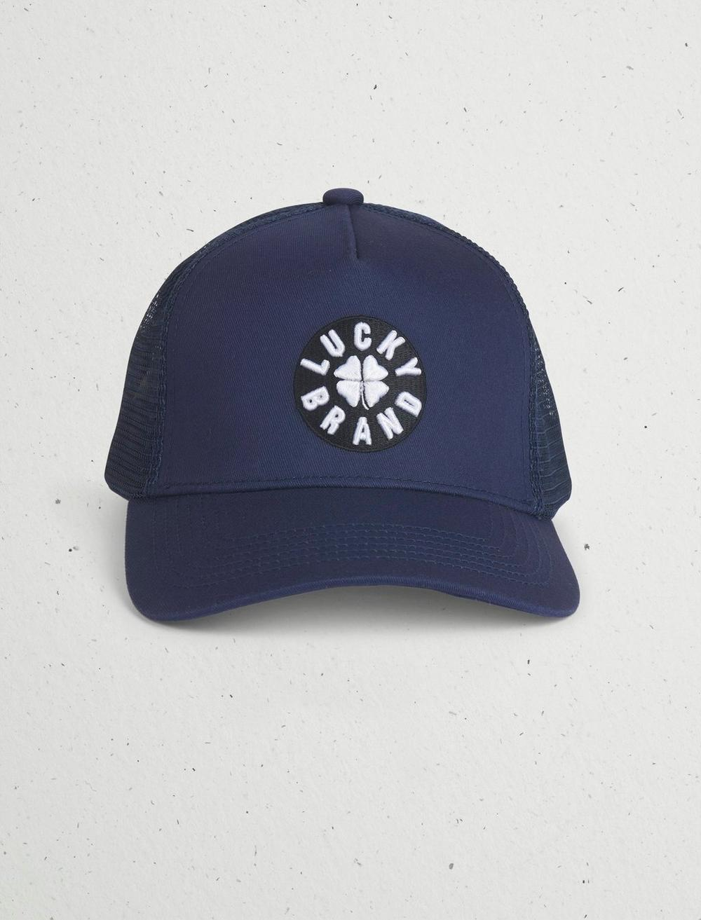 LUCKY PATCH TRUCKER HAT, image 1