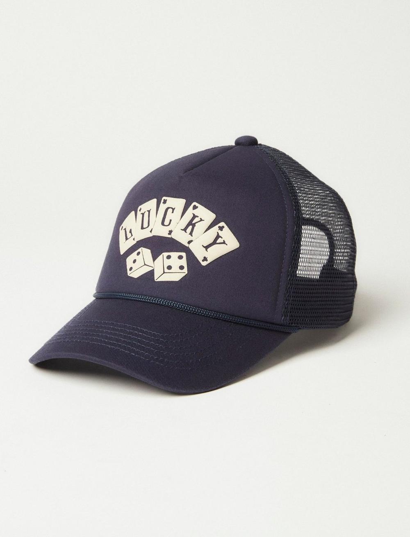 LUCKY DICE TRUCKER HAT, image 1