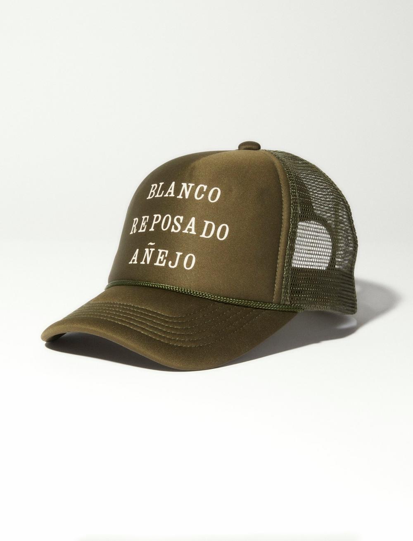 CODIGO OLIVE TRUCKER HAT, image 1