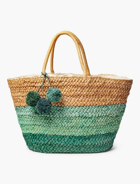BASKET BEACH TOTE, NATURAL MULTI, productTileDesktop