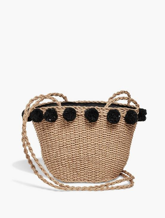 MINI STRAW BASKET, NATURAL, productTileDesktop