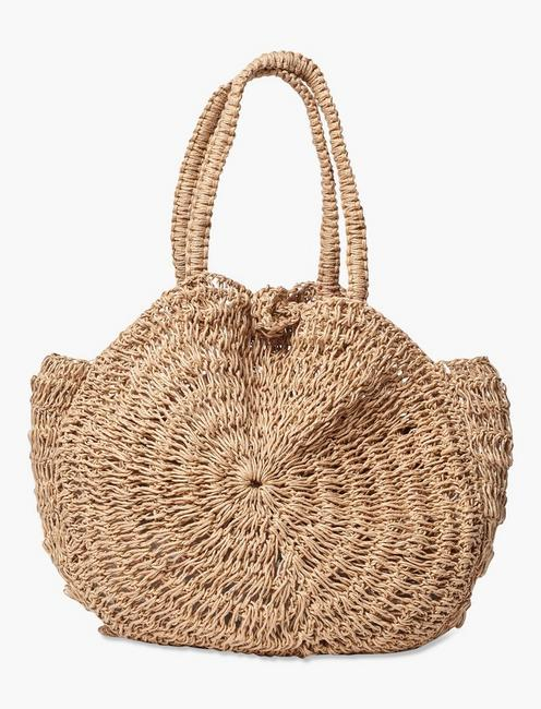MACRAME JUTE BAG, NATURAL