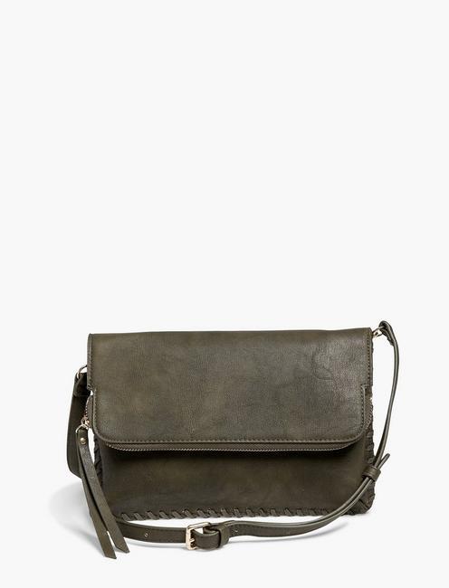 38e276df6a06 Vegan Leather Whipstich Crossbody | Lucky Brand