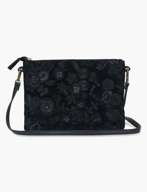MIDNIGHT FLORAL EMBROIDERED,