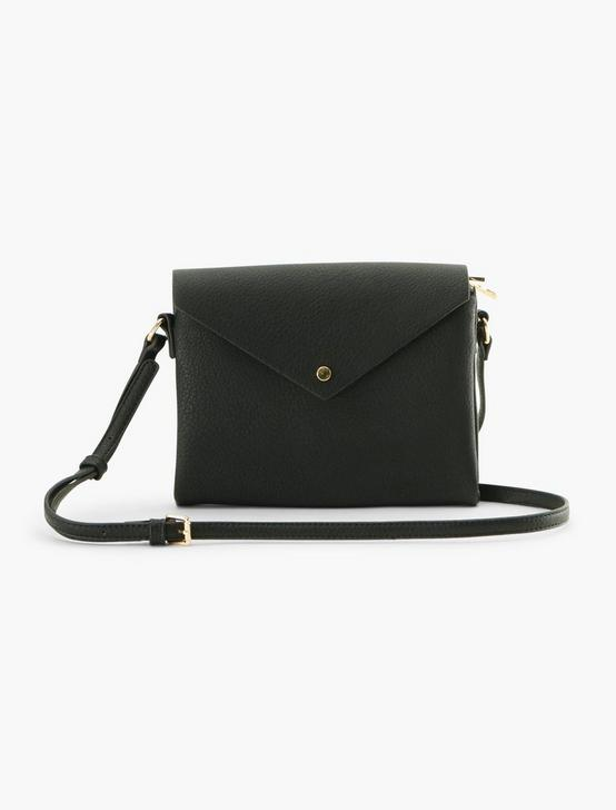 ENVELOPE CROSSBODY BAG, BLACK, productTileDesktop