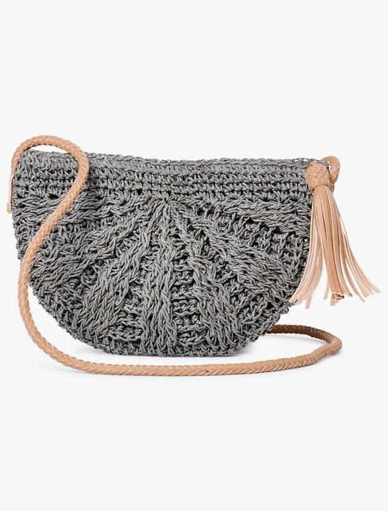 SCALLOPED EDGE CROSSBODY, SLATE, productTileDesktop