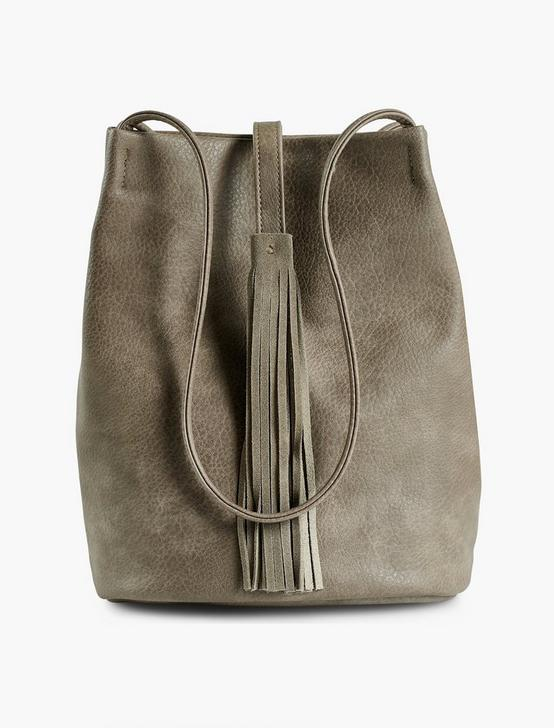 SKINNY STRAP SHOULDER BAG, DARK GREY, productTileDesktop