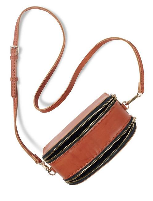 STRUCTURED CONTRAST CROSSBODY,