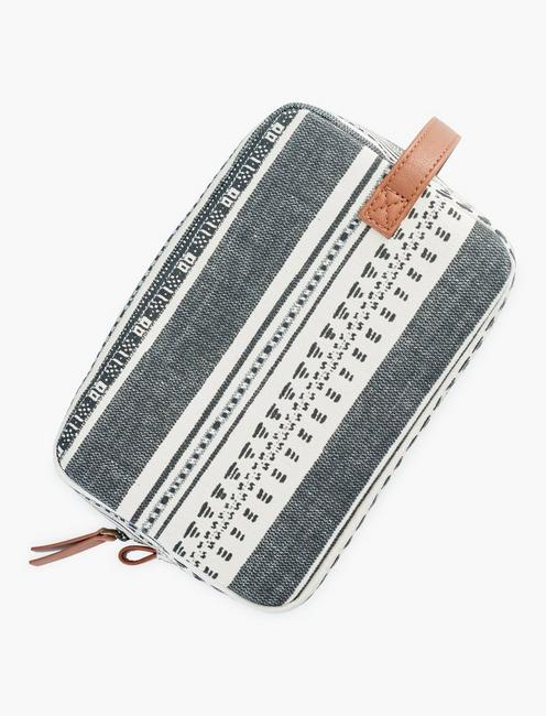 PRINTED COSMETIC POUCH, MULTI