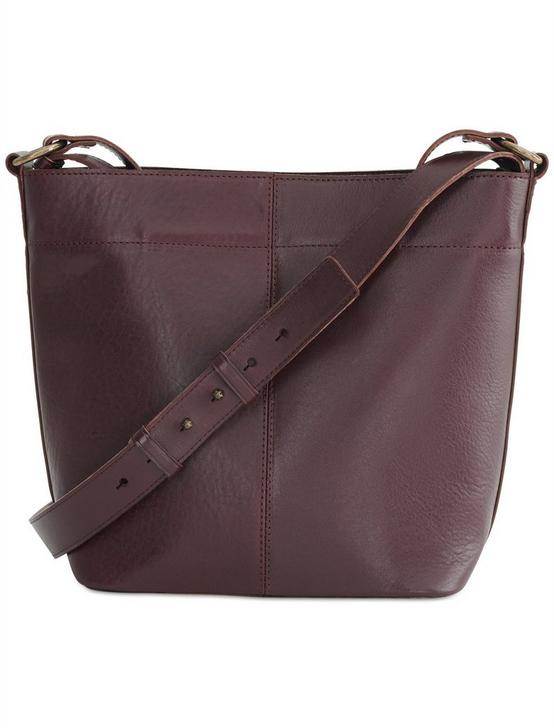 POINT LEATHER SATCHEL, PLUM, productTileDesktop