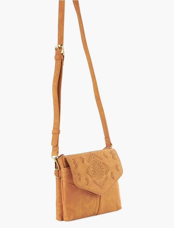 WHIPSTITCH CROSSBODY, MEDIUM DARK BROWN, productTileDesktop