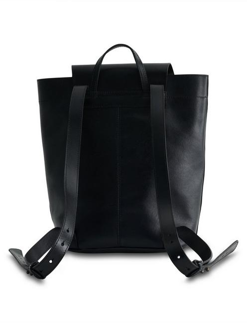POINT LEATHER BACKPACK, BLACK