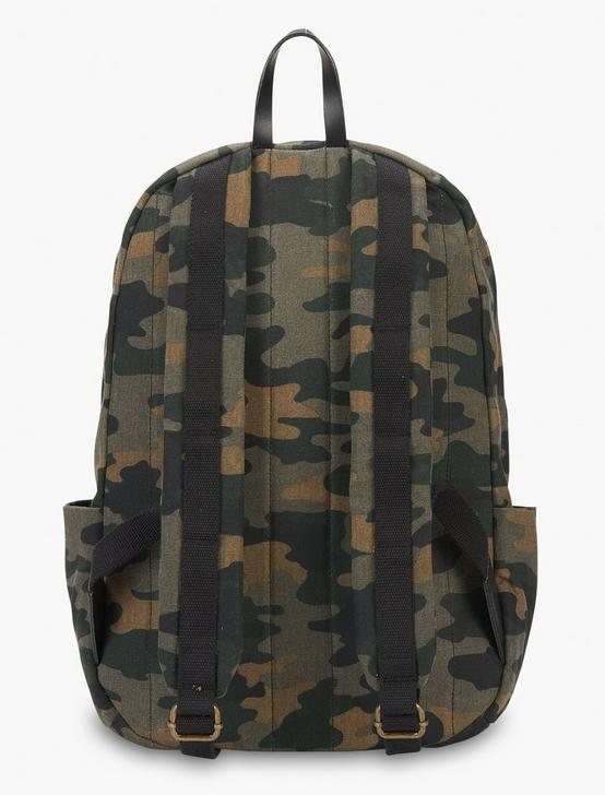 WAXED CANVAS MEN'S BACKPACK, CAMO (ARMY COLORS), productTileDesktop
