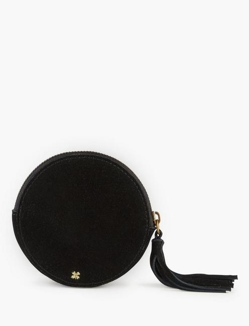 ROUND ROCK AND ROLL POUCH, BLACK