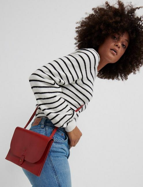 THE POINT CROSSBODY, POPPY RED