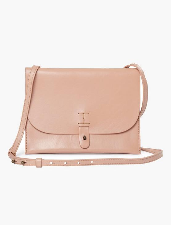 THE POINT LEATHER CROSSBODY, BLUSH, productTileDesktop