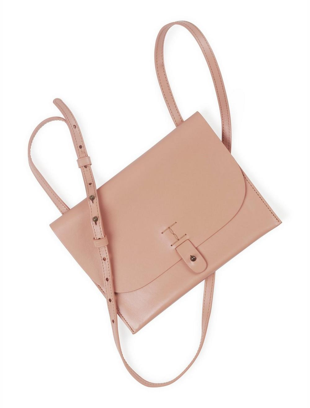 THE POINT LEATHER CROSSBODY BAG, image 4